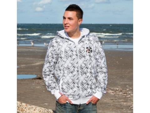 Džemperis Hooded Jacket White