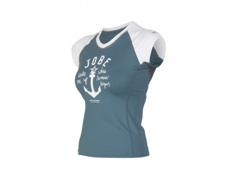 Lykra Rash Guard V-Neck Chrome